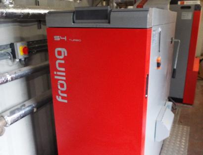 Froling S4 Turbo boiler cawder golf club biomass boiler