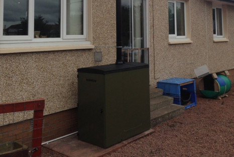 braehead domestic biomass boilers install casestudy