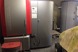 hargassner biomass boiler install donavourd perthshire