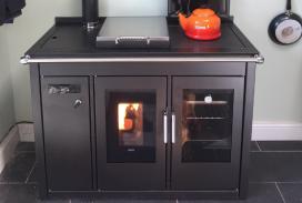 Klover Smart 120 biomass boiler